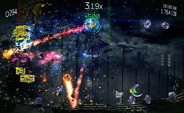 Resogun Heroes Out Today: New World, New Modes, New Trophies