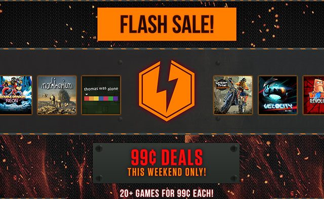 Flash Sale: 20+ Games $0.99 Each, This Weekend Only