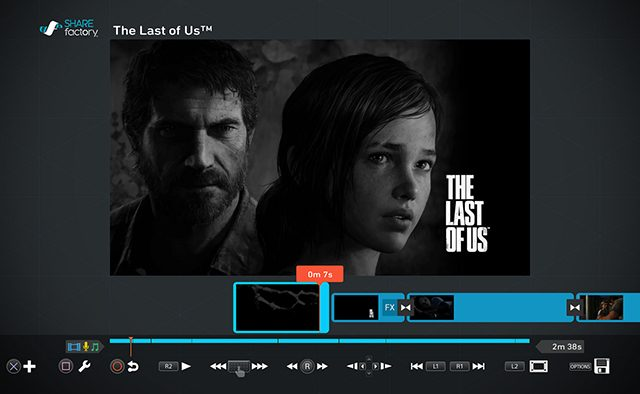 SHAREfactory Update Coming Soon, Adds The Last of Us Remastered Theme