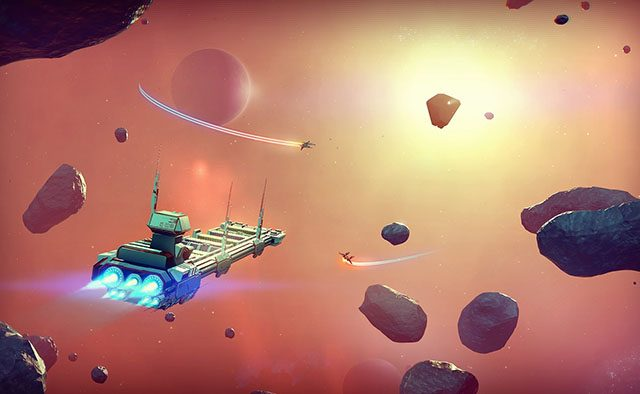 No Man's Sky: A Whole Universe to Explore