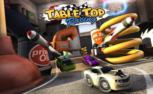 Table Top Racing Launches on PS Vita Today
