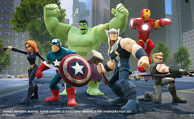 Disney Infinity: Marvel Super Heroes Out Today on PS4, PS3