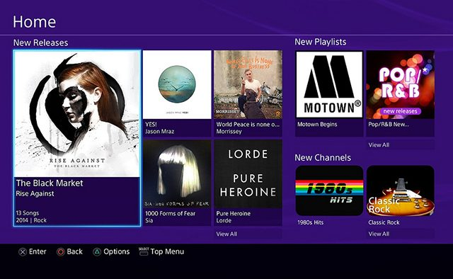 Music Unlimited on PS3 Redesigned, Improved Performance