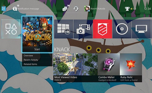 PS4 System Software 2.00 Preview: USB Music, Home Screen Colors