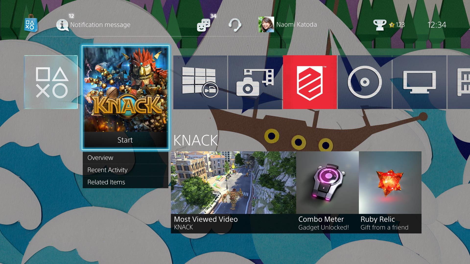PS4 System Software 2 00 Preview: USB Music, Home Screen