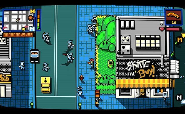Retro City Rampage: DX Hits PS Store Tomorrow, PS4 Retail Soon