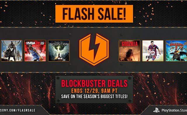 Flash Sale: End of Year Discounts on 30+ Games