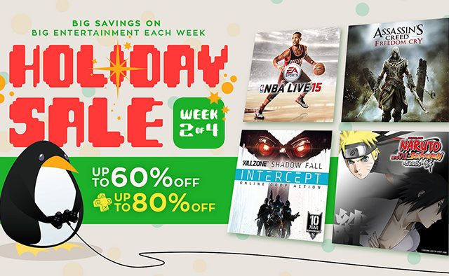 Holiday Sale: Week 2 of Game and Movie Discounts