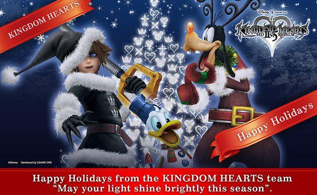 Happy Holidays from the Kingdom Hearts Team