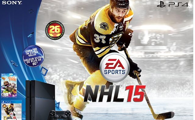 Canada: PS4 Boxing Day Bundle Includes NHL 15 & LBP3