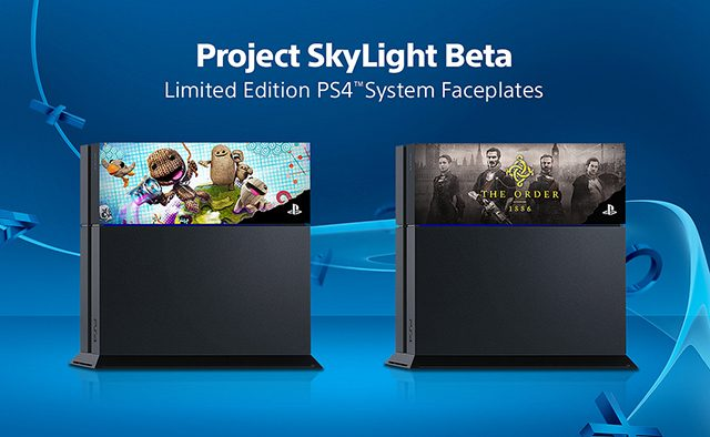 Introducing Project SkyLight: Limited Edition Faceplates to Personalize Your PS4