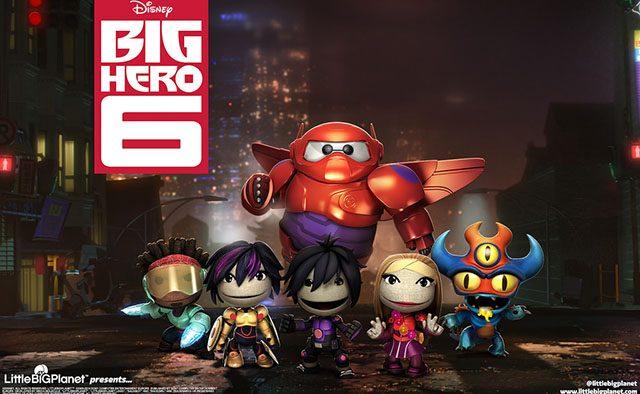 LittleBigPlanet 3 Sackboy meets the Big Hero 6