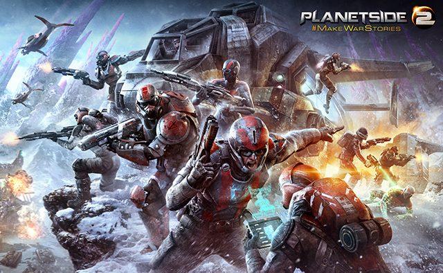 PlanetSide 2 Closed Beta Hits PS4 January 20th – PlayStation