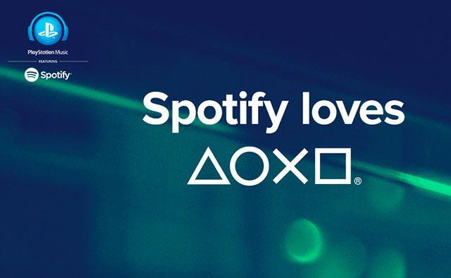 PlayStation, Meet Spotify