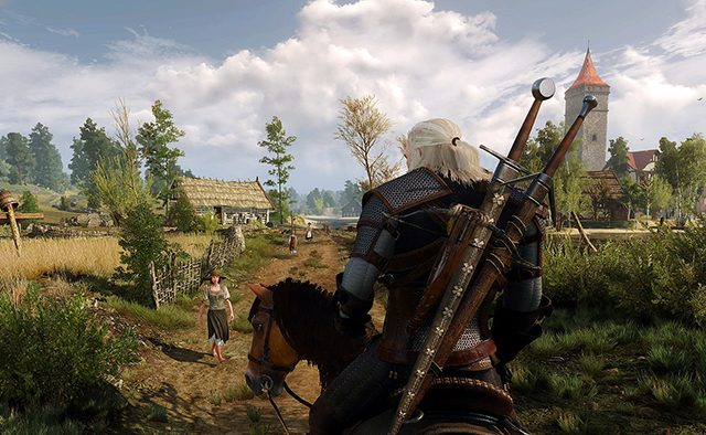Hands-on with The Witcher 3: Wild Hunt on PS4