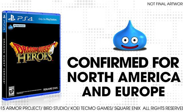 Dragon Quest Heroes Coming to PS4 in 2015