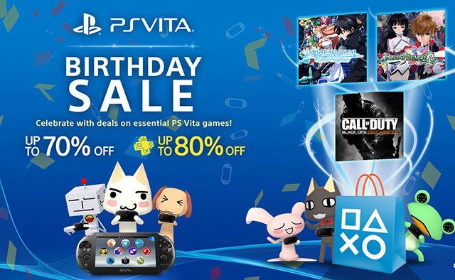 Happy Birthday PS Vita! Free Items, Big Sale