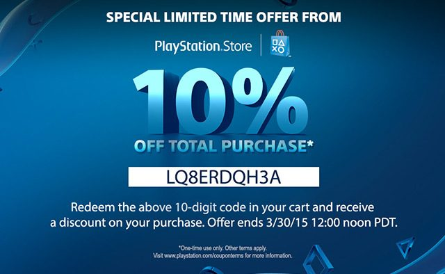 10% Discount Weekend for PS Store Purchases Starts Today