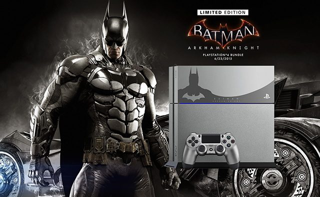 Announcing the Limited Edition Batman: Arkham Knight PS4