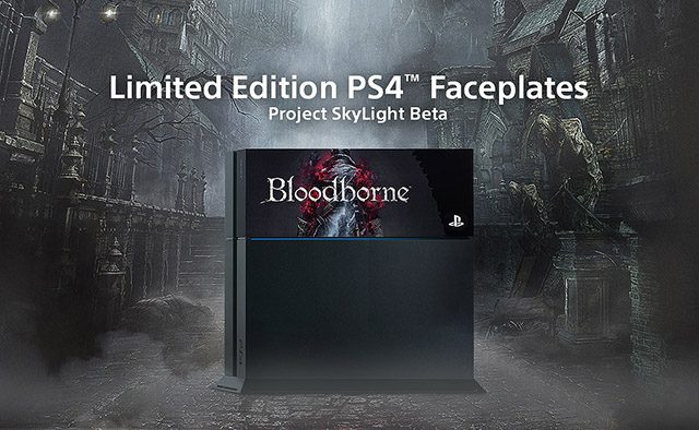 Project Skylight: New Bloodborne & PS Symbols PS4 Faceplates