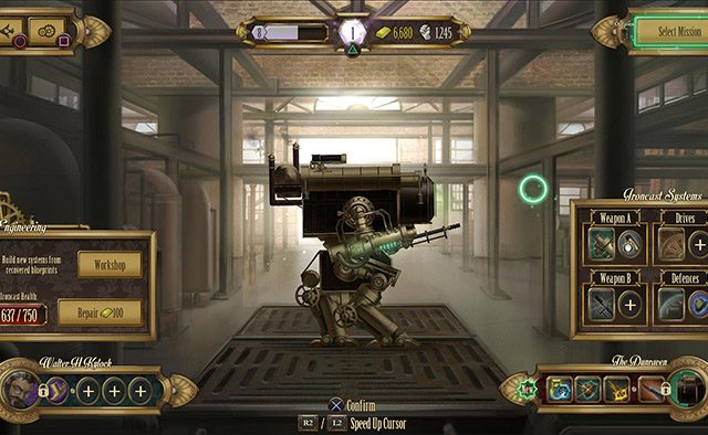 Steampunk Puzzle Game Ironcast Coming to PS4