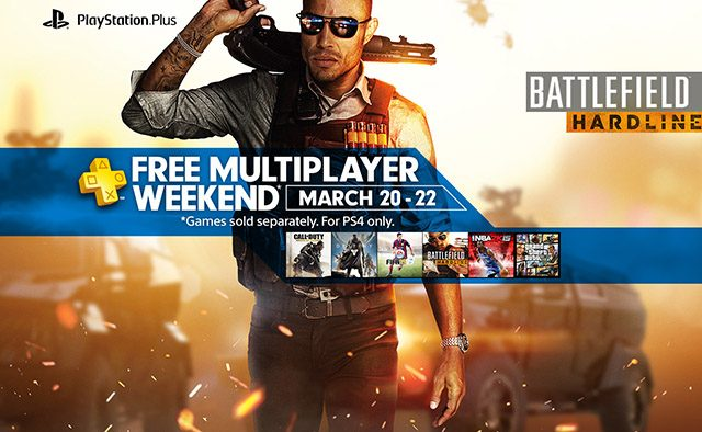 Free Online Multiplayer This Weekend for All PS4 Players