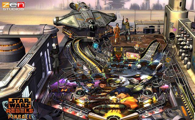 Star Wars Pinball: Star Wars Rebels Coming to Zen Pinball 2