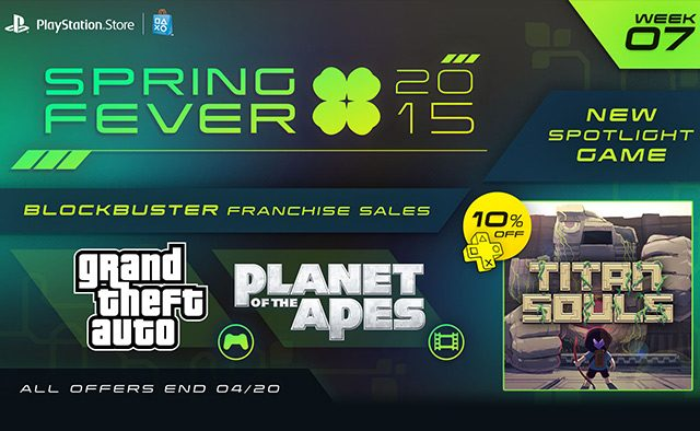 Spring Fever Week 7: Titan Souls Out Today, GTA Games & Planet of