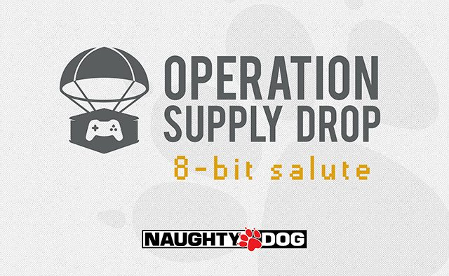 Naughty Dog Charity Livestream for Operation Supply Drop May 16th