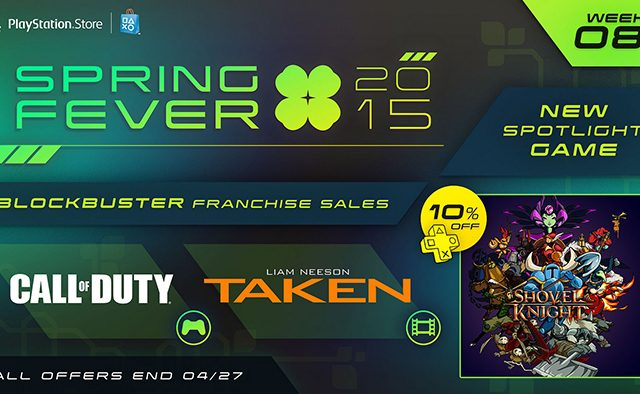 Spring Fever Week 8: Shovel Knight Out Today, Call of Duty Sale