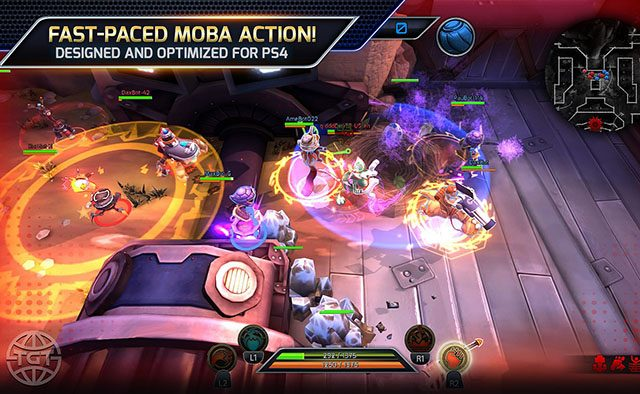 Trans-Galactic Tournament: Free-to-Play MOBA Action on PS4
