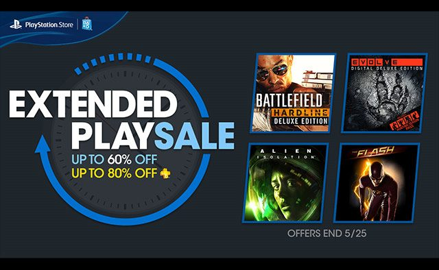 Extended Play Sale: Huge Deals Through 5/25