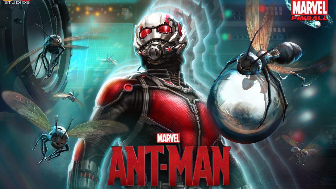 Ant-Man Pinball Comes to PS4, PS3, PS Vita July 15th