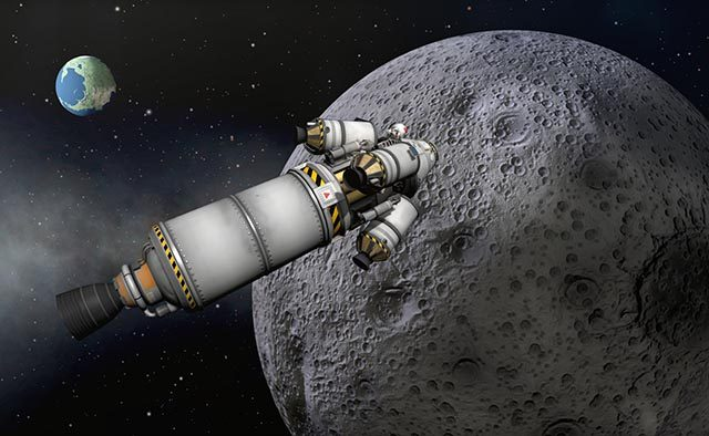 Kerbal Space Program Preparing to Launch on PS4