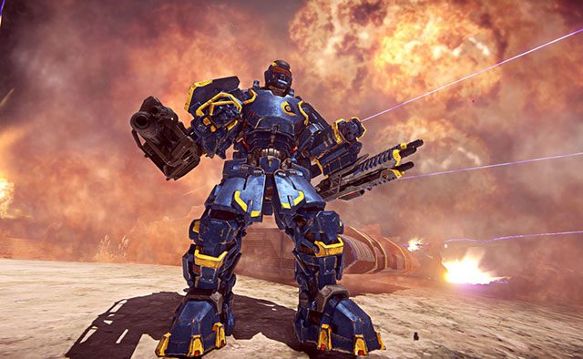 PlanetSide 2 Launches on PS4 June 23rd