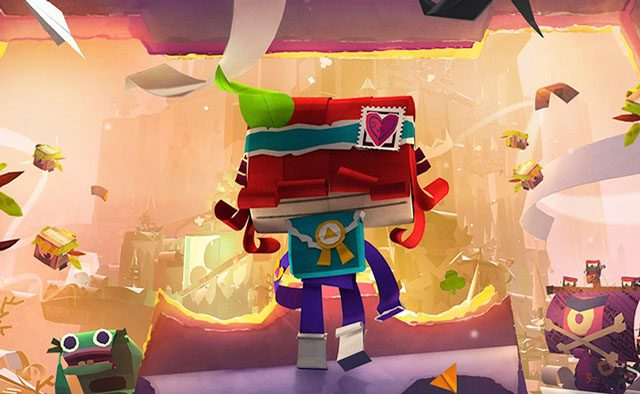 Tearaway Unfolded Out on PS4 Sept. 8th for $39.99