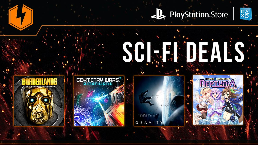 Flash Sale Now Live: Sci-Fi Deals