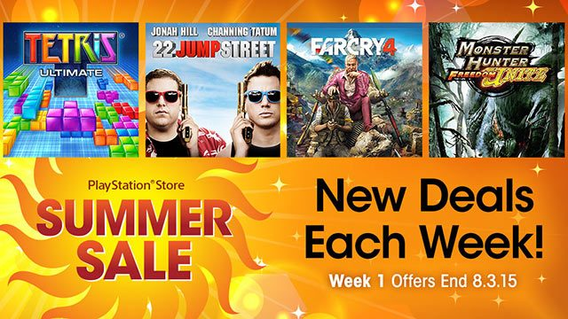 Summer Sale Week 1: Far Cry 4, Monster Hunter, More Up to 70% Off