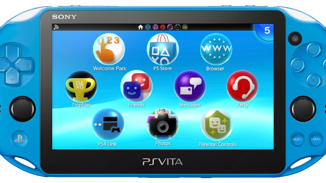 Aqua Blue PS Vita Coming to GameStop This November