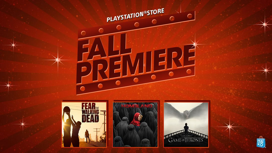 Fall Premiere Event: New Series Launch, Season Pass Discounts