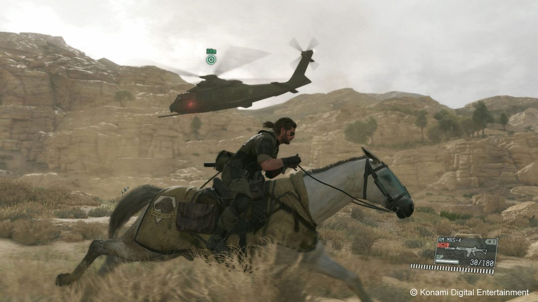Metal Gear Solid V: The Phantom Pain Out Today on PS4, PS3
