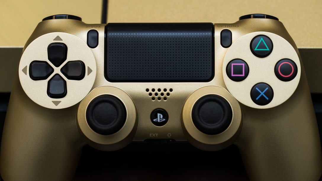 Enter to Win a Limited Edition Gold PS4 Bundle Starting Today