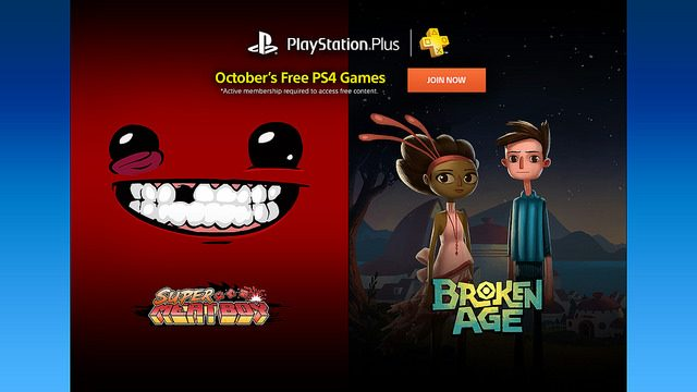 PS Plus: Free Games for October 2015