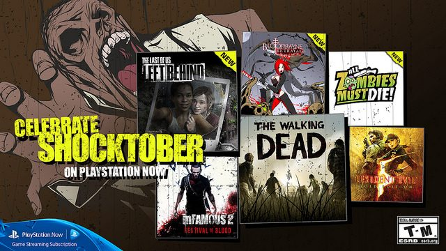 PlayStation Now: Celebrate SHOCKTOBER with 13 New Subscription Games