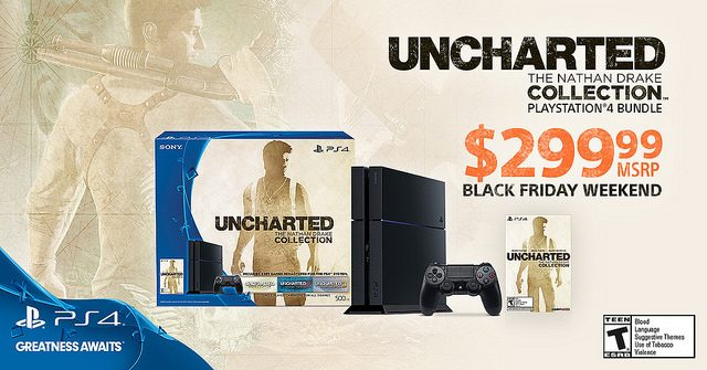 Black Friday Weekend Deal: $299 Uncharted Nathan Drake Collection PS4 Bundle