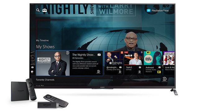 PlayStation Vue Coming to Amazon Devices Today