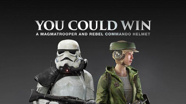 Star Wars Battlefront: Win a Rebel Helmet & Magmatrooper Helmet