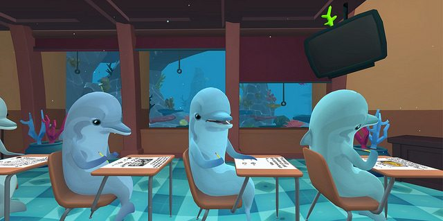 Classroom Aquatic Brings Cheating and Dolphins to PlayStation VR
