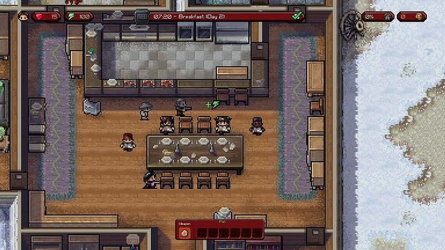 The Escapists The Walking Dead Coming to PS4 on February 16th