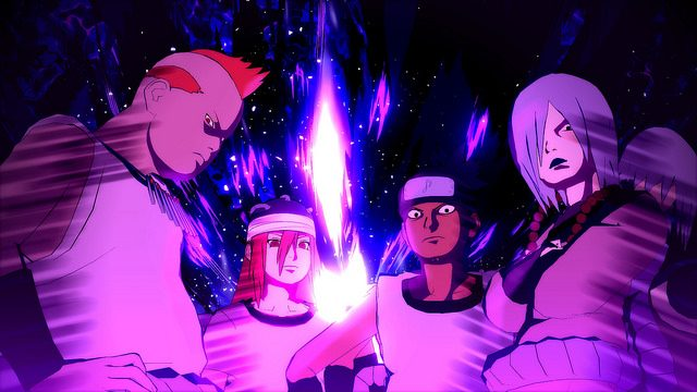 The Sound Four Join Naruto Shippuden: Ultimate Ninja Storm 4 on PS4